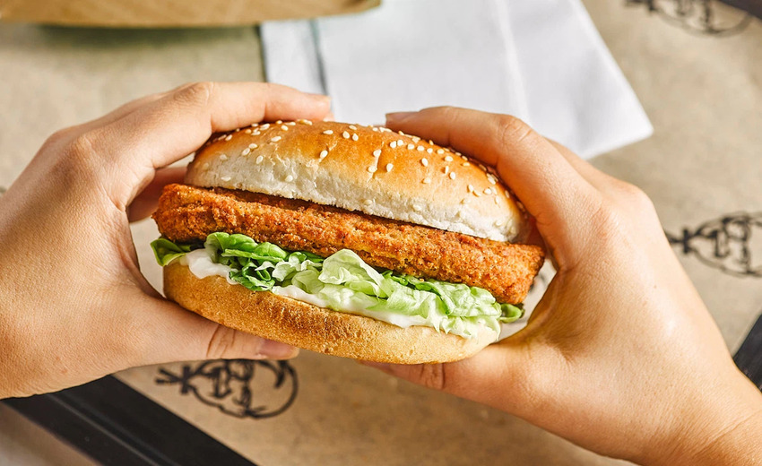 Burger thuần chay KFC phù hợp với nhiều đối tượng khách hàng