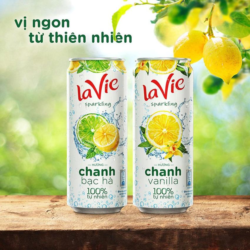 Sản phẩm giải khát của Lavie khá thành công khi sử dụng công thức vanilla và bạc hà