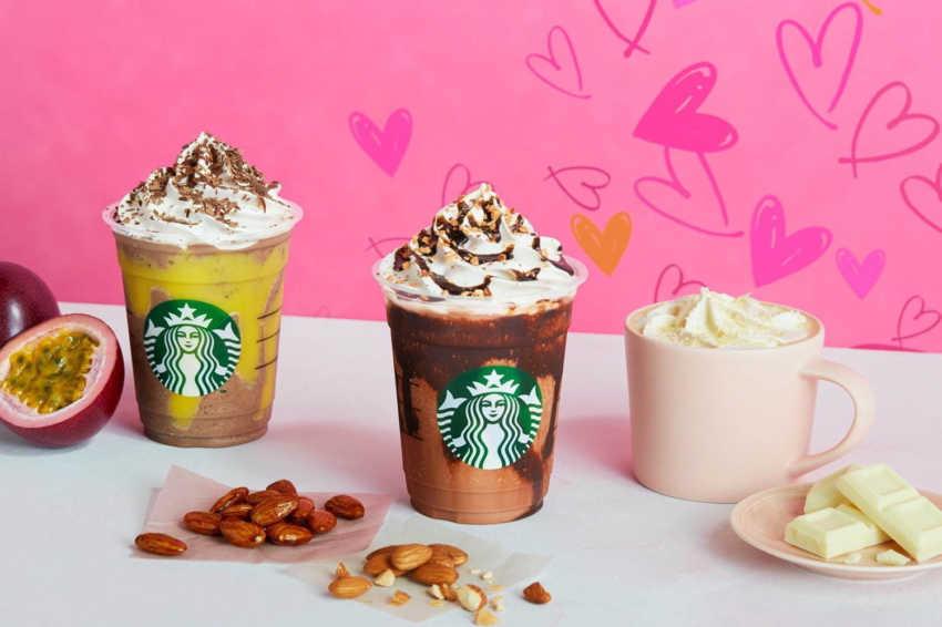 Starbucks Nhật Bản cho quả chanh dây và cà phê cho sản phẩm mùa Valentine 2020