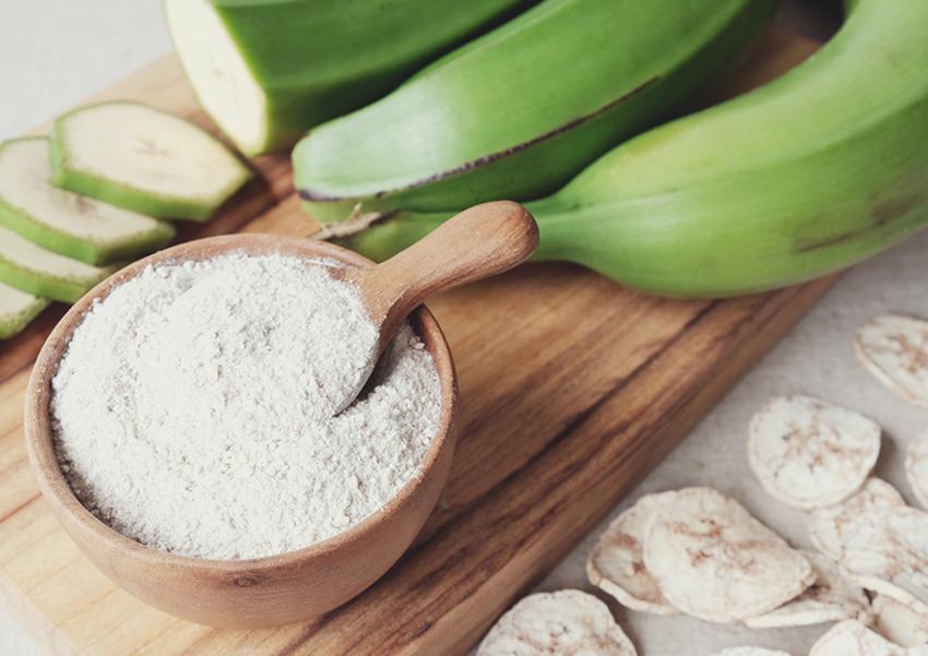 Bột chuối được ứng dụng nhiều trong ngành công nghiệp đồ ngọt