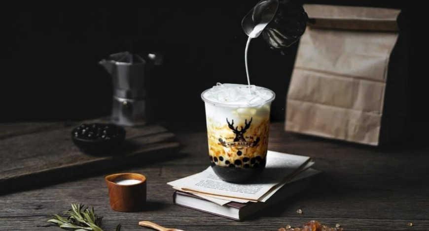 Hãng trà sữa The Alley đã nhanh chóng bổ sung vào thực đơn thức uống hương thảo mộc