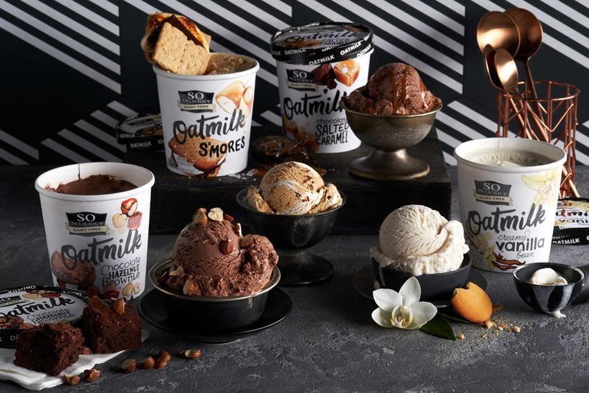 Oatly là thương hiệu ứng dụng thành công sữa yến mạch trong sản phẩm kem