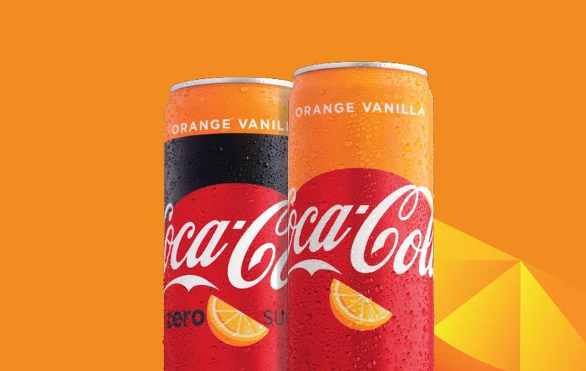 Orange Vanilla Coke là sản phẩm nổi bật trong năm 2019 của Coca Cola
