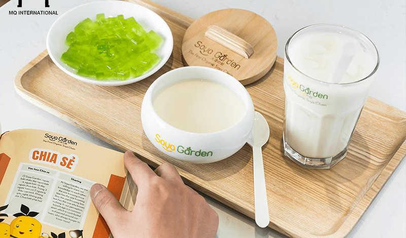 Soya Garden là một trong những thương hiệu tiên phong trong lĩnh vực phát triển chuỗi F&B kinh doanh sữa đậu nành