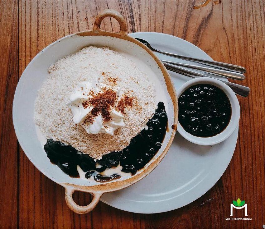Bingsu trà sữa trân châu - Một dạng ứng dụng hương vị trà sữa thu hút