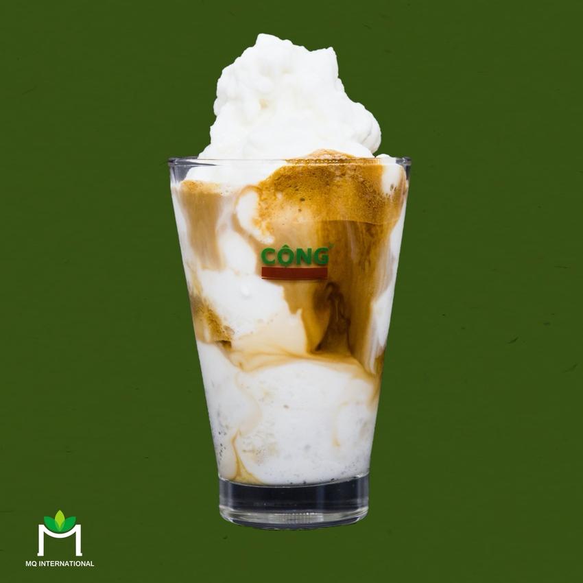 Các loại sinh tố cốt dừa vời của Cộng Cafe