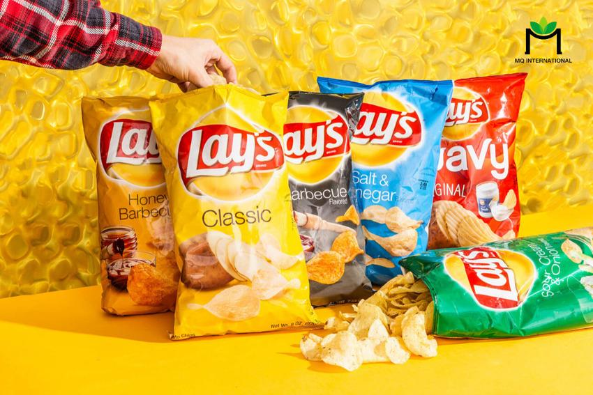 Công thức thành công của Lays cũng nằm ở sự đa dạng trong kết hợp hương vị