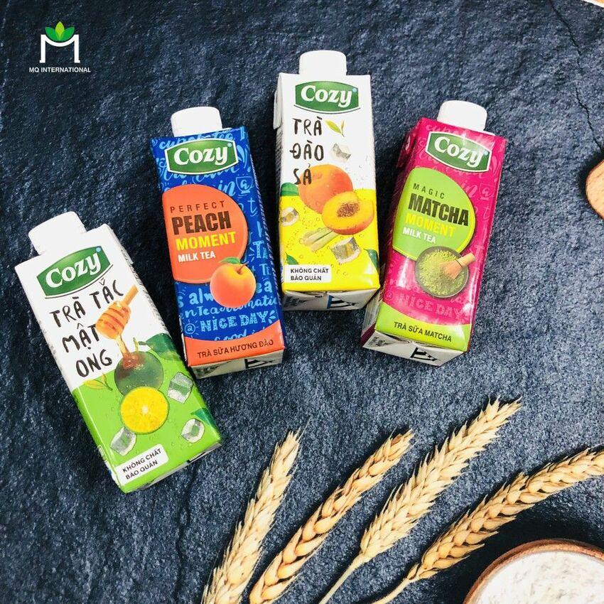 Cozy là một thương hiệu khá thành công khi tung ra sản phẩm trà sữa đóng chai