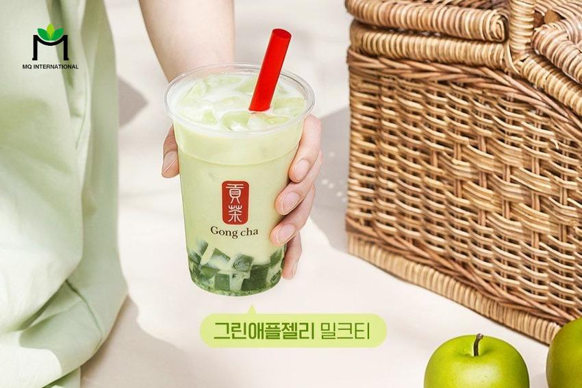 Gong Cha là một trong những thương hiệu cho ra đời nhiều sản phẩm ứng dụng bột trà đen