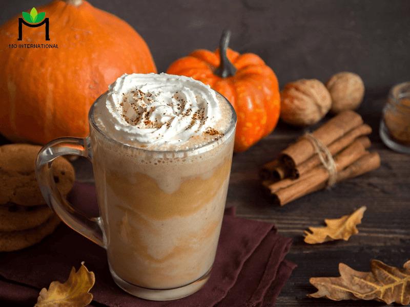 Latte bí ngô độc đáo và mới lạ nhờ syrup bí ngô