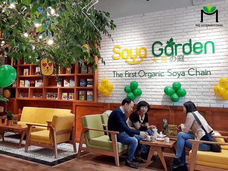 Soya Graden chuyển sang tập trung phát triển các cửa hàng nhỏ và ki-ốt
