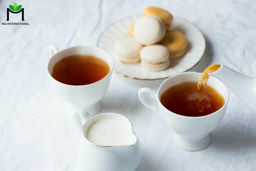 Sự kết hợp tinh tế giữa vị đắng của trà và béo thơm của sữa thu hút giới trẻ