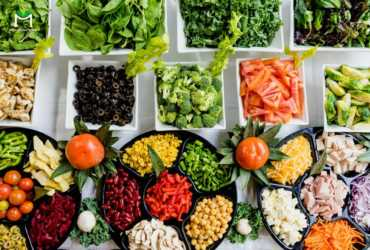 Các nguyên liệu dùng chế biến bữa ăn eat clean rất đa dạng