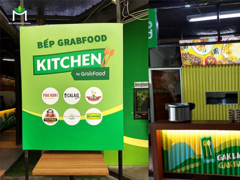 Grab đầu tư mạnh vào mô hình Grab Kitchen