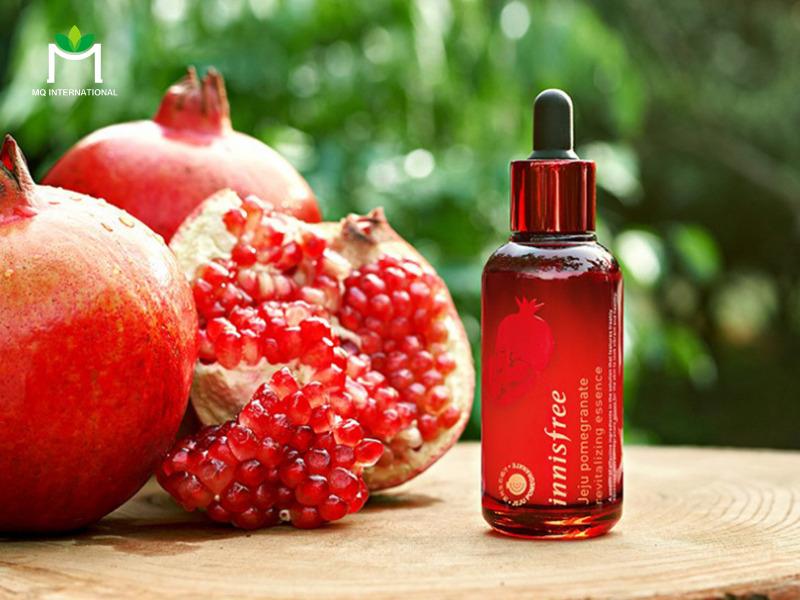 Hương trái cây có trong mỹ phẩm giúp tạo mùi hương dễ chịu