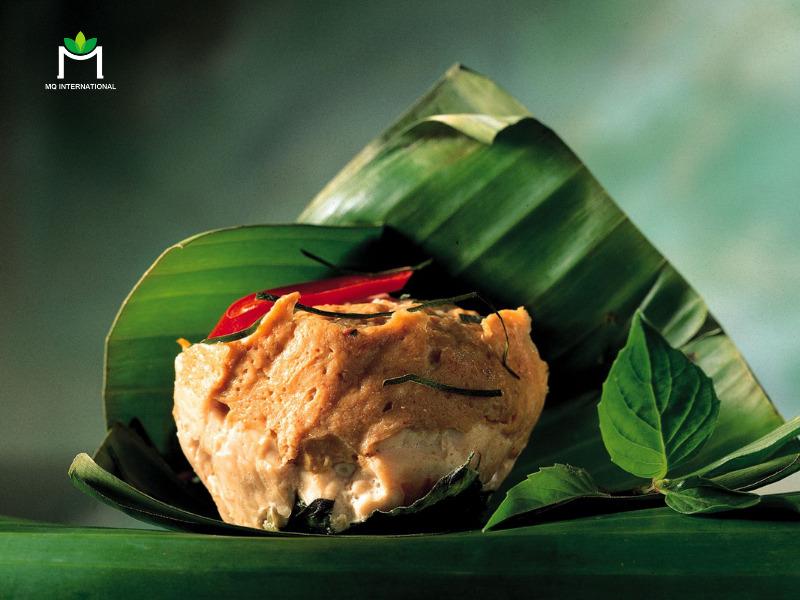 Kai hor bai toei - món gà gói lá dứa đặc trưng tại Thái Lan