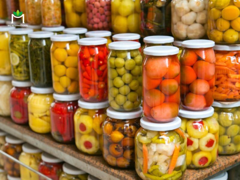 Chất bảo quản thực phẩm giữ vai trò quan trọng trong sản xuất thực phẩm đóng hộp