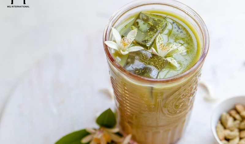 Hương hoa cam càng giúp làm nổi bật giá trị vị đặc trưng của trà xanh