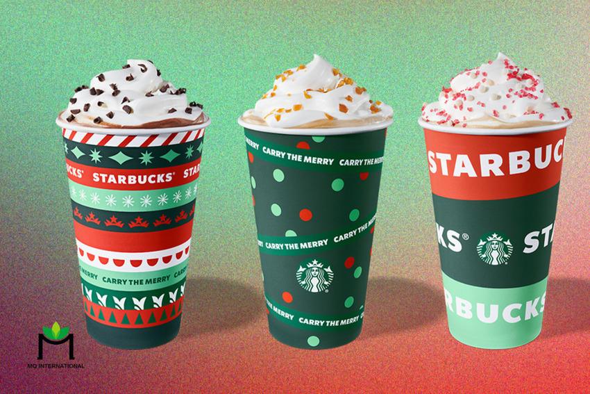 Các dòng thức uống mùa Giáng Sinh 2020 của Starbucks