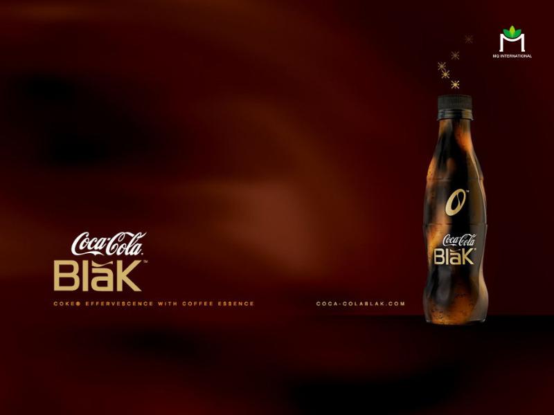Coca Cola Blak là sự kết hợp đầu tiên giữa coke và hương cafe