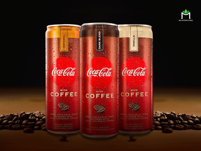 Coca Cola hương cafe có 3 hương vị khác nhau bao gồm: Vanilla, Dark Blend và Caramel