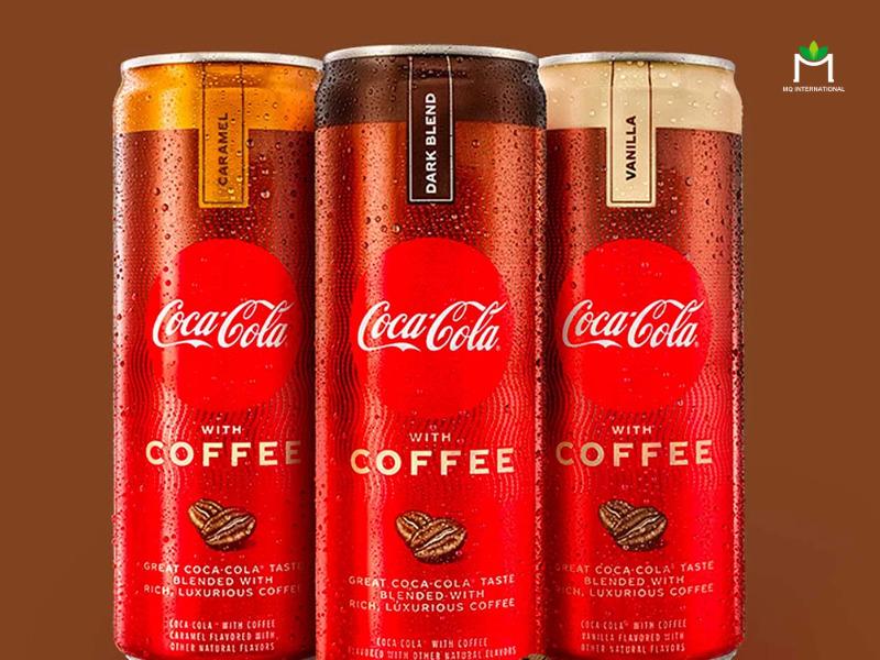 Coca Cola hương cafe là sản phẩm mang đậm tính sáng tạo và độc đáo