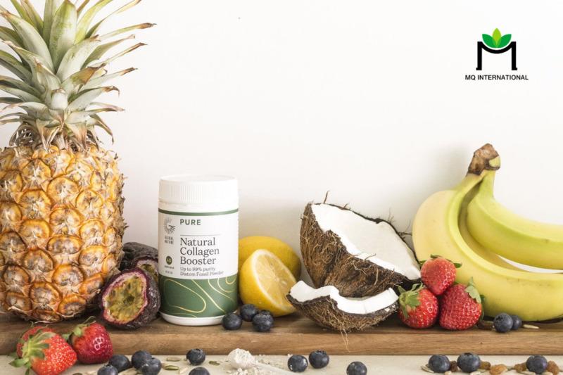 Collagen dạng bột thường dùng trong các công thức đồ uống bổ sung dưỡng chất