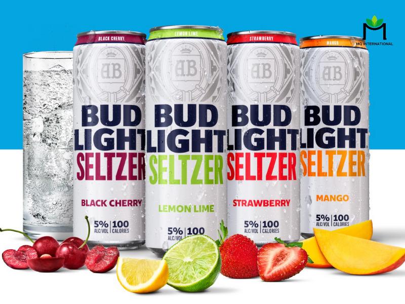 Hard seltzer là dòng thức uống có ga và hương trái cây