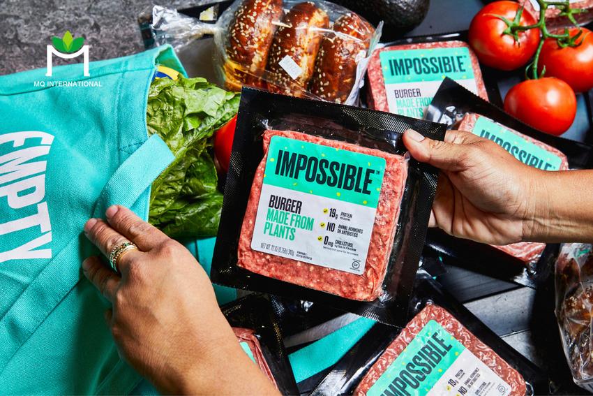 Impossible Foods và Beyond Meat là những đối thủ của Nestlé trong ngách thịt gốc thực vật