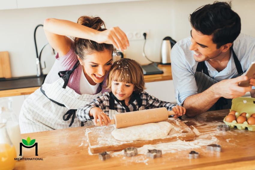Phụ huynh có ảnh hướng lớn đến việc ăn bánh quy của trẻ em