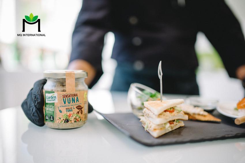 Thành phần chính của Vuna là pea protein - một loại protein gốc thực vật đặc biệt thân thiện với môi trường
