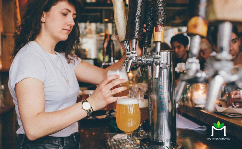 Văn hóa taproom góp phần đưa bia thủ công trái cây trở thành xu hướng