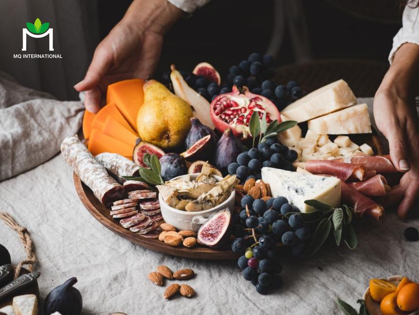 Các nguyên liệu thực phẩm giàu dưỡng chất là thành phần quan trọng trong công thức món tráng miệng hiện nay