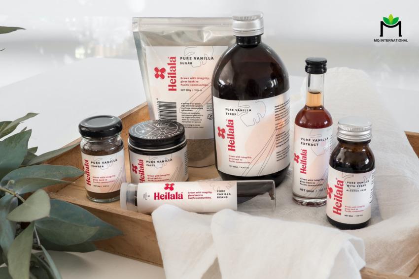 Heilala Vanilla là một trong những thương hiệu hàng đầu thế giới về sản xuất hương vani