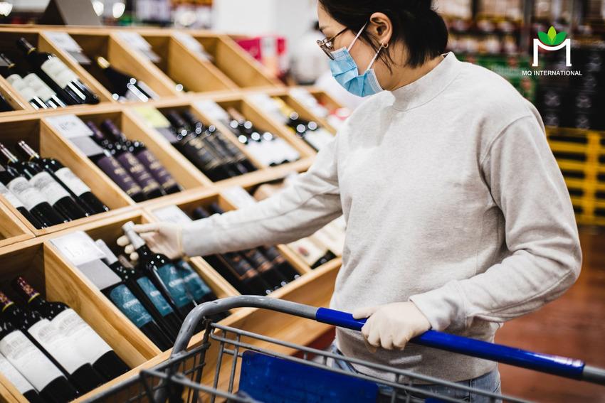 Việc mua rượu tại siêu thị sẽ dần bị thay thế bởi các ứng dụng trực tuyến