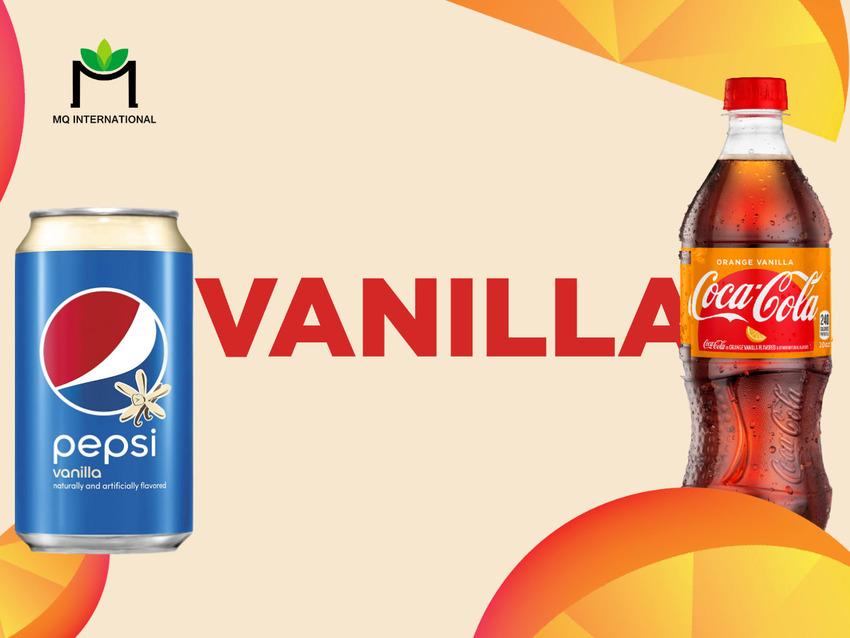 Coca cola trung thành với hương liệu vani trong nhiều năm