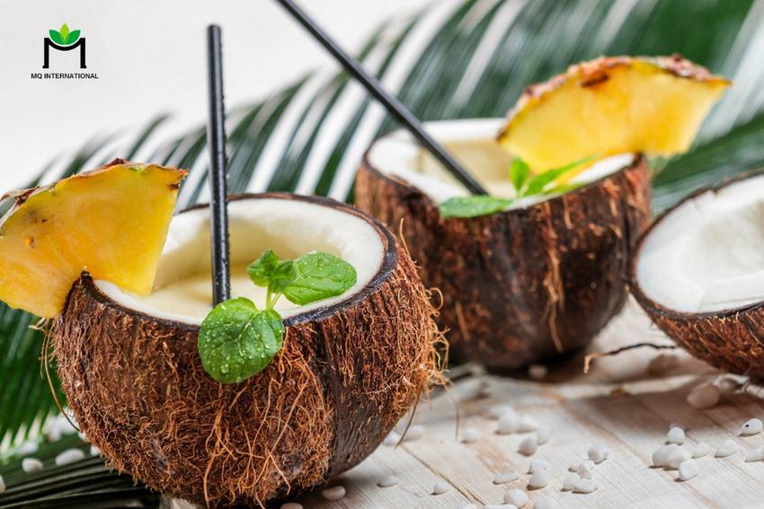 Đồ uống hương dừa ngày càng được giới trẻ ưa chuộng