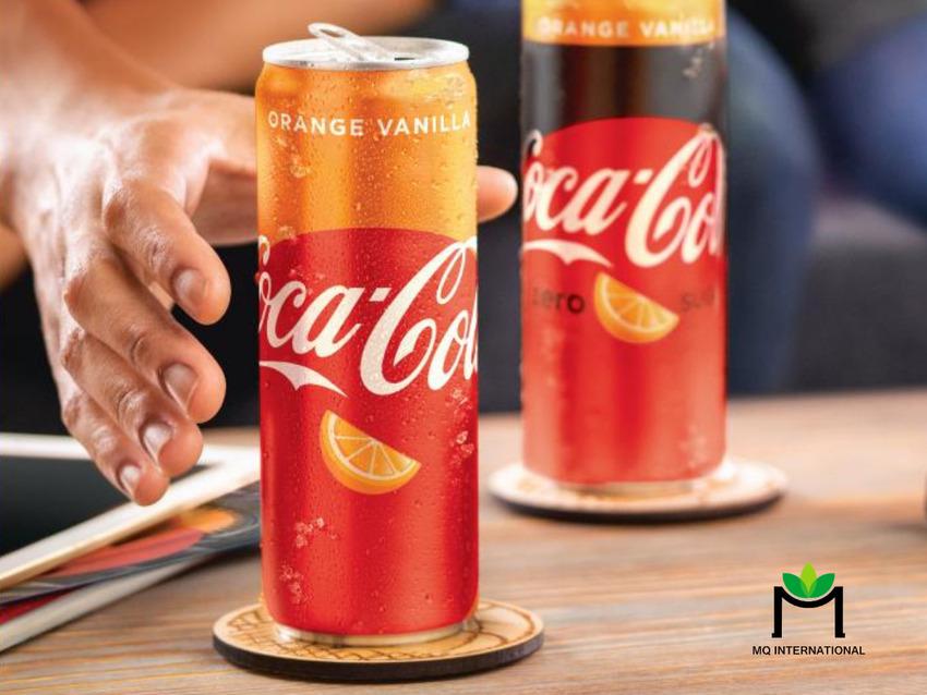 Hương cam là hương vị trái cây kinh điển của Coca Cola