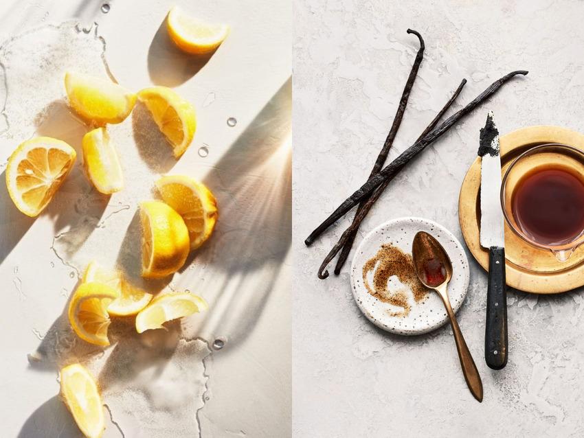 Hương chanh và vani mang lại cảm giác trái ngược về cân nặng cơ thể