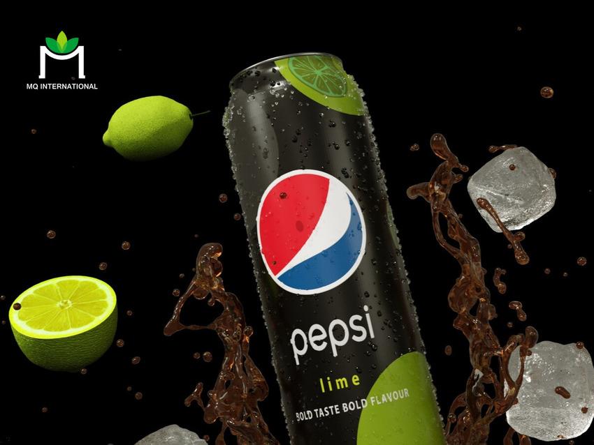 Vị chanh gắn liền với các dòng thức uống hương trái cây của Pepsi