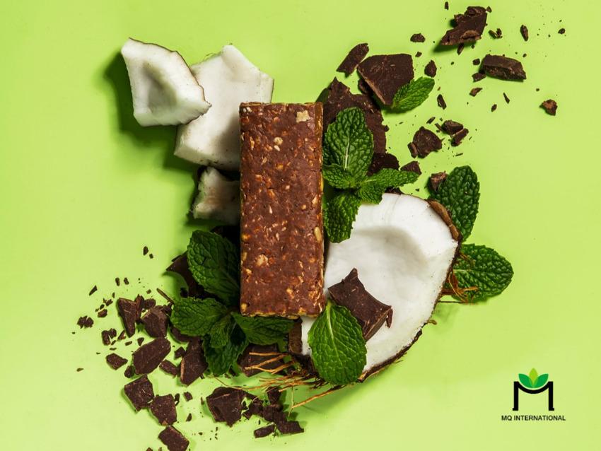 Hương bạc hà xuất hiện trong thanh keto chocolate của thương hiệu Dang