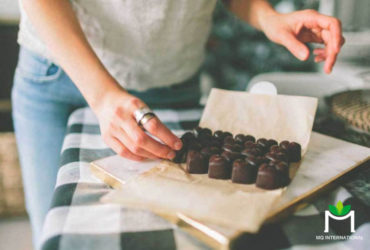 Hương vị socola giúp người dùng cảm thấy thư thái và dễ chịu
