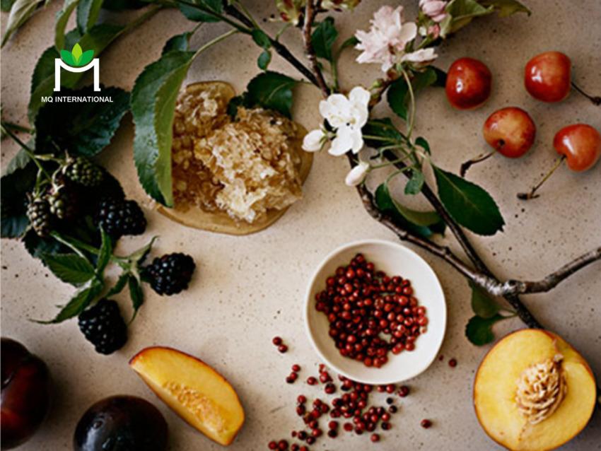 Kết hợp trái cây với rau củ, gia vị khiến công thức sản phẩm mới mẻ và thu hút hơn