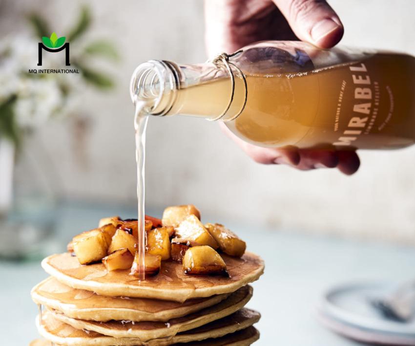 Mật ong thường được dùng trong các món ngọt
