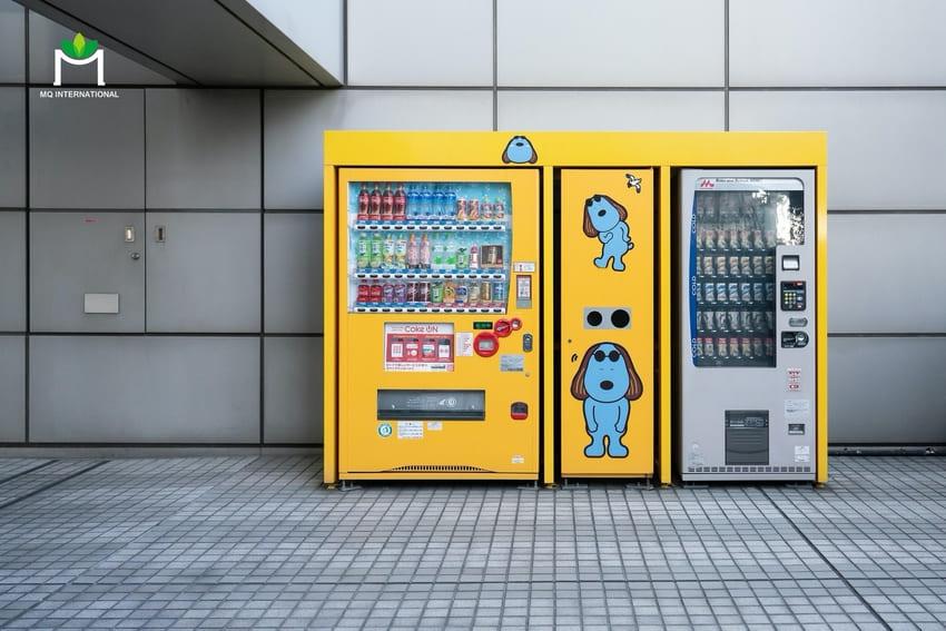 Mô hình máy bán nước tự động được mô phỏng nhờ digital twin