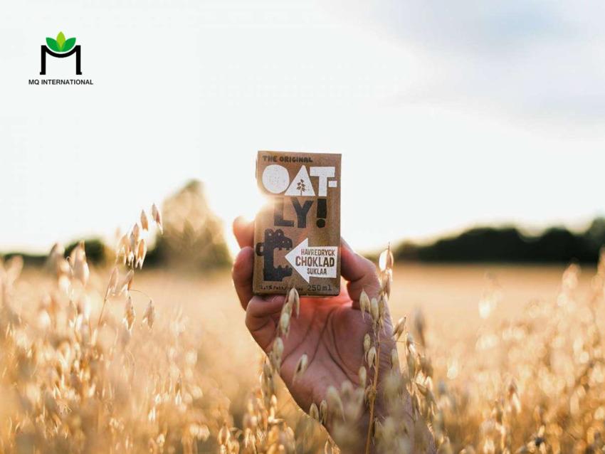 Việc sản xuất sữa thực vật ít tác động đến môi trường