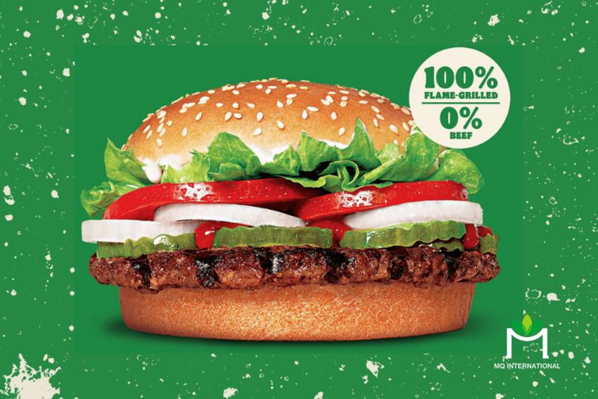 Whopper chay của Burger King do The Vegetarian Butcher cung cấp nguyên liệu