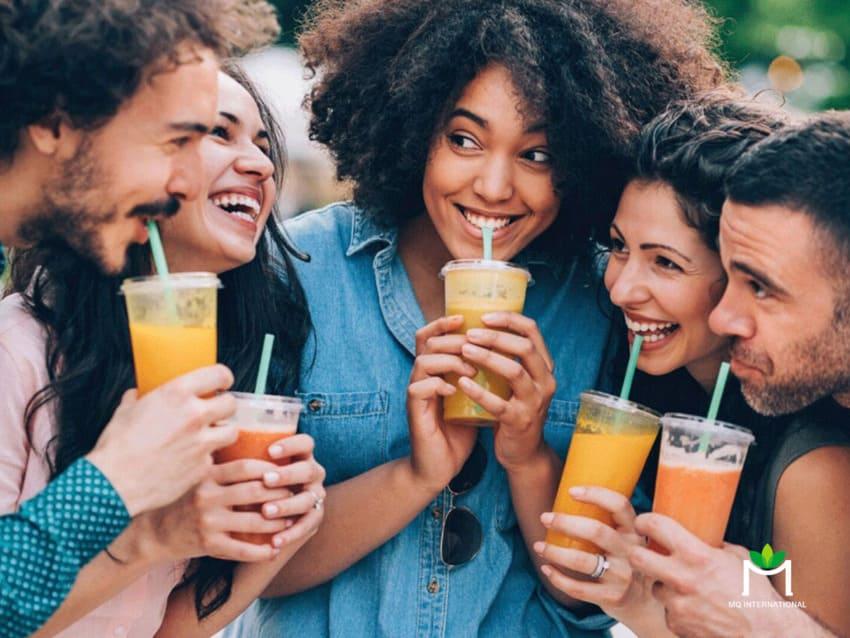 Frutly không thêm đường hoặc chất ngọt nhân tạo đáp ứng được nhu cầu của nhóm teen