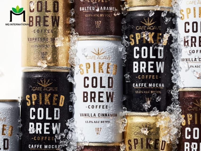 Cold Brew, Nitrogen-infused coffee,... cũng được đóng lon