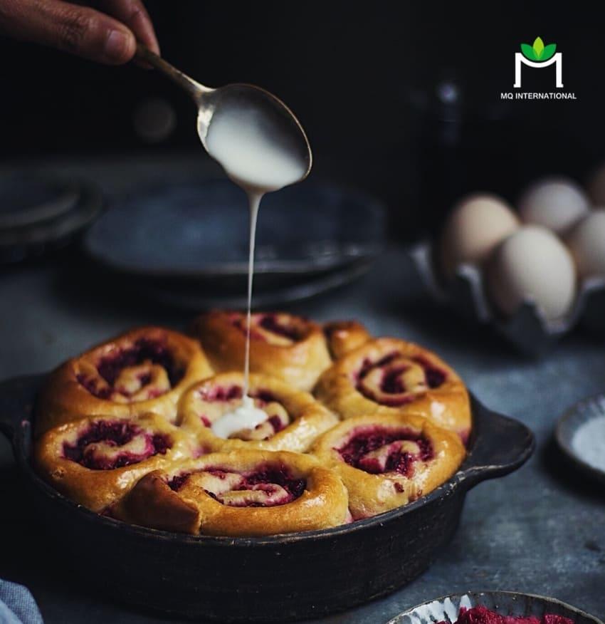 Hương sữa góp phần tạo nên những món ăn ngon và dinh dưỡng